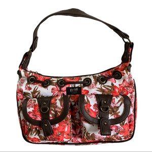GIGI HILL floral patterned purse shoulder Bag